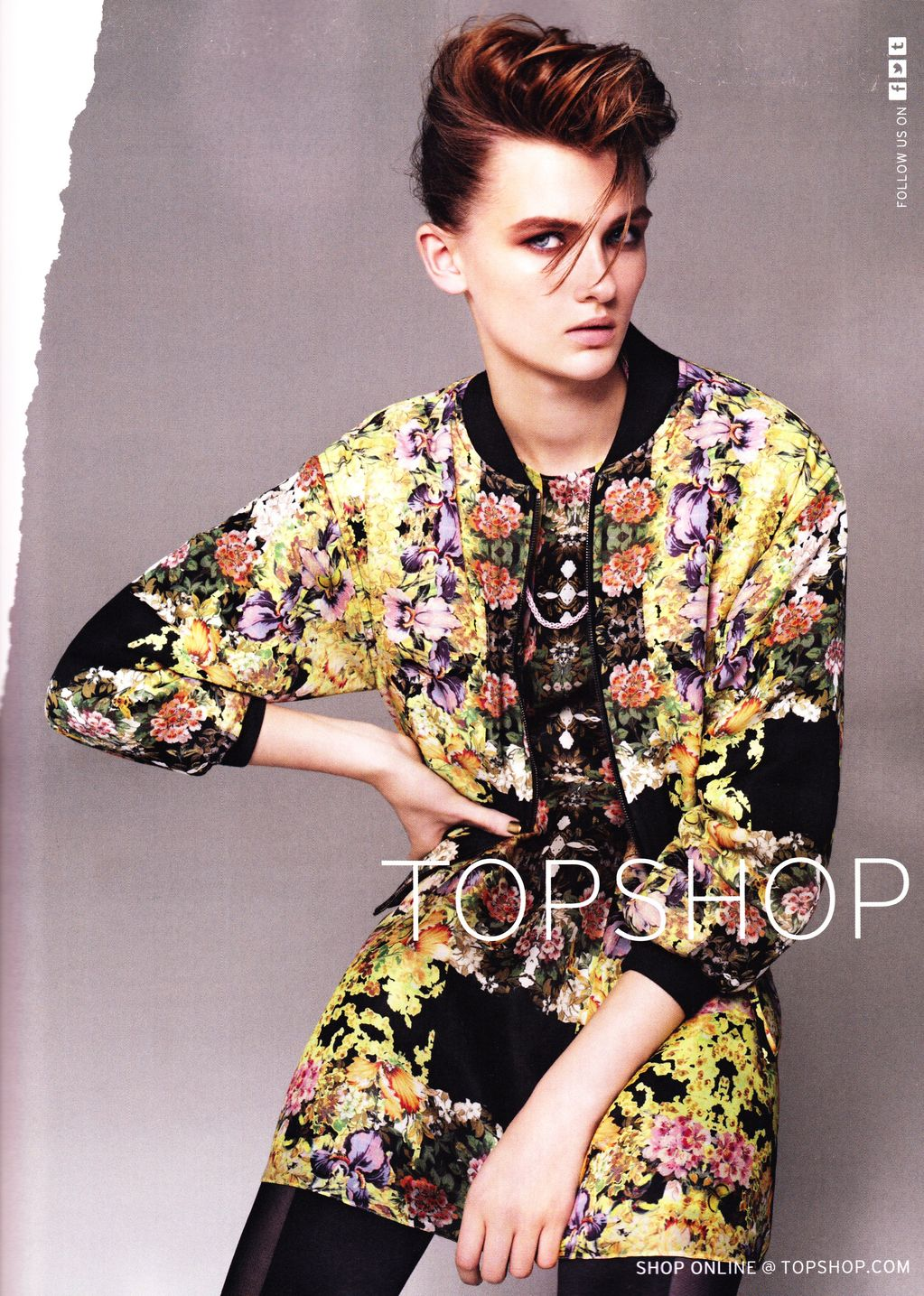 Topshop Spring Summer 2012 Ad Campaign