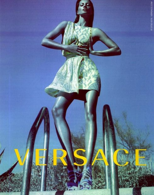 Versace Spring Summer 2012 Ad Campaign