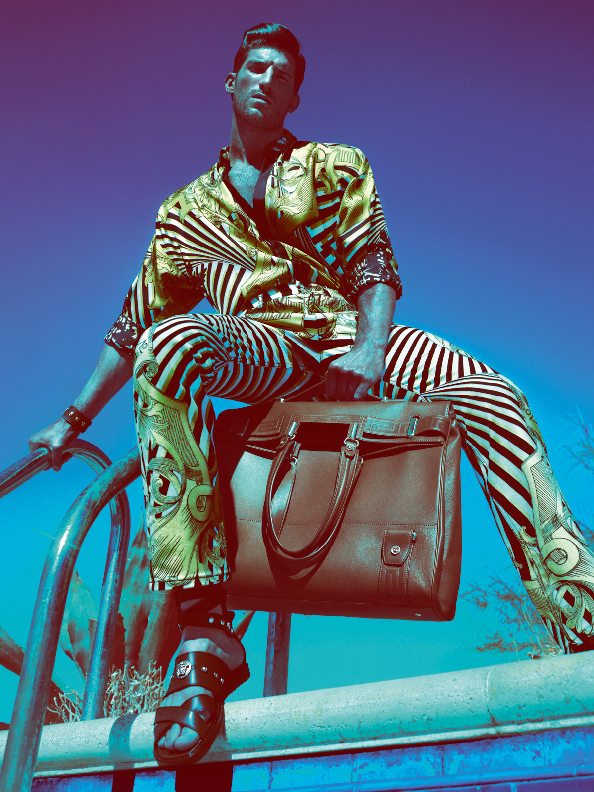 Art8amby S Blog: Versace Spring Summer 2012 Ad Campaign