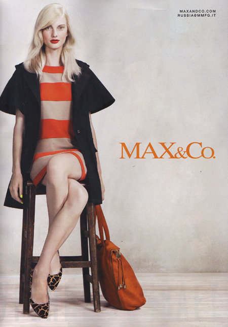 quality design 6d7f4 3ea7a Max & Co. Spring Summer 2012 Ad Campaign | Art8amby's Blog