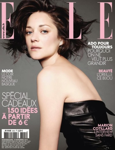 Marion Cotillard For Elle France 3542 November 15th 2013