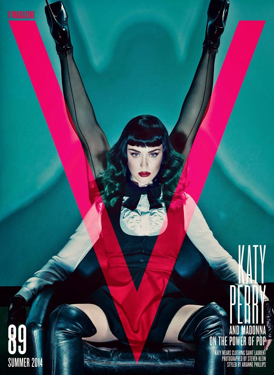 Katy Perry Amp Madonna For V Magazine 89 Summer 2014