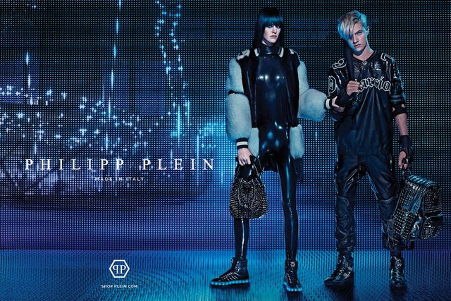 a70a0120f6 Steven Klein photographed the Fall Winter 2015 campaign of Philipp Plein  with Lucky Blue Smith and Sarah Brannon. (source)